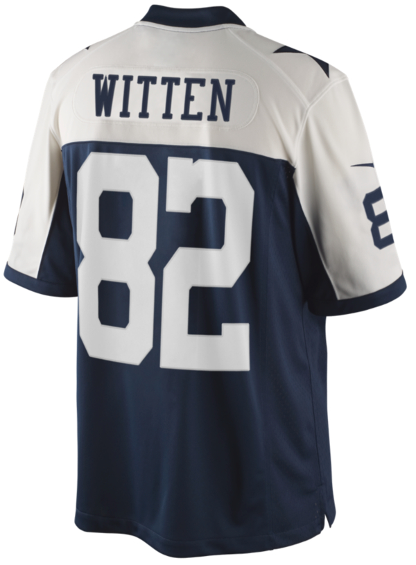 Dallas Cowboys Witten Nike Limited Throwback Jersey 3XL-4XL