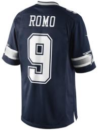 Dallas Cowboys Tony Romo #9 Nike Navy Limited Jersey