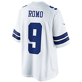 Dallas Cowboys Tony Romo #9 Nike White Limited Jersey