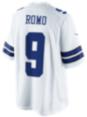 Dallas Cowboys Romo #9 Nike White Limited Jersey 3XL-4XL