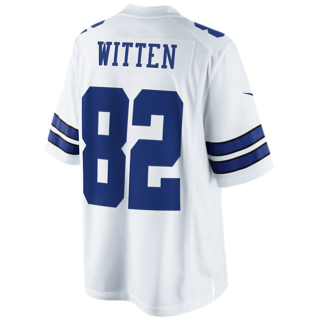 Dallas Cowboys Jason Witten #82 Nike White Limited Jersey 3XL-4XL
