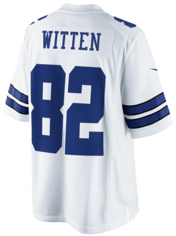 Dallas Cowboys Jason Witten #82 Nike White Limited Jersey 3XL-4XL