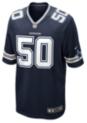 Dallas Cowboys Sean Lee #50 Nike Navy Game Replica Jersey