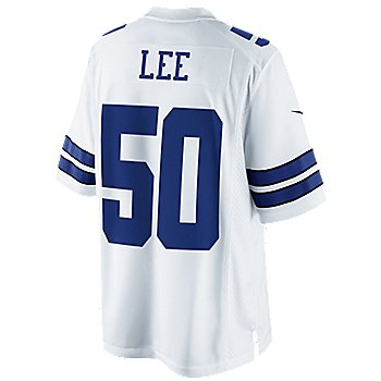 Dallas Cowboys Sean Lee #50 Nike White Limited Jersey 3XL-4XL