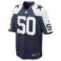 Dallas Cowboys Sean Lee #50 Nike Game Replica Throwback Jersey
