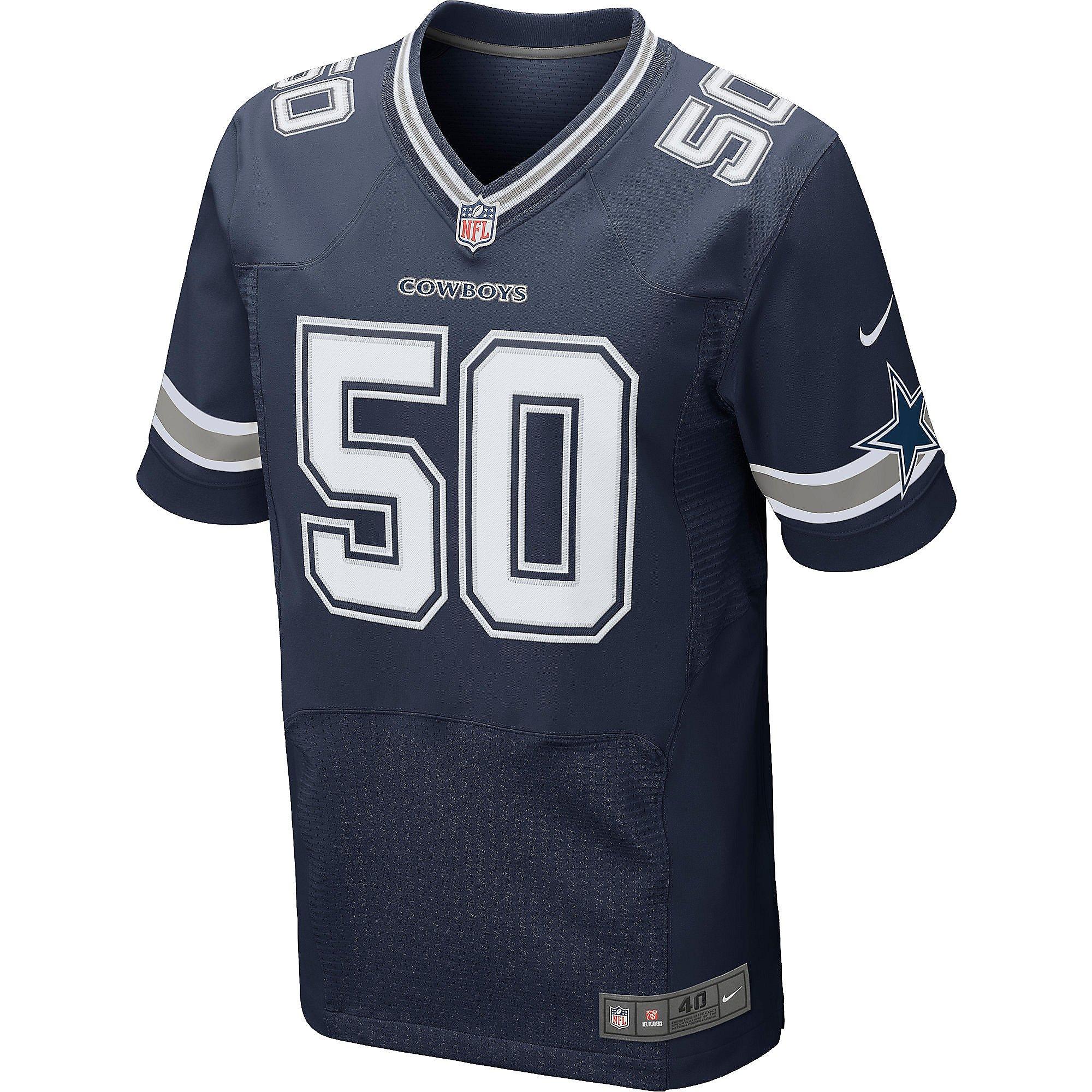 Dallas Cowboys Sean Lee #50 Nike Elite Authentic Jersey | Dallas ...