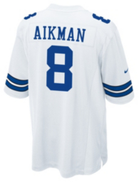Dallas Cowboys Legend Troy Aikman Nike Game Replica Jersey