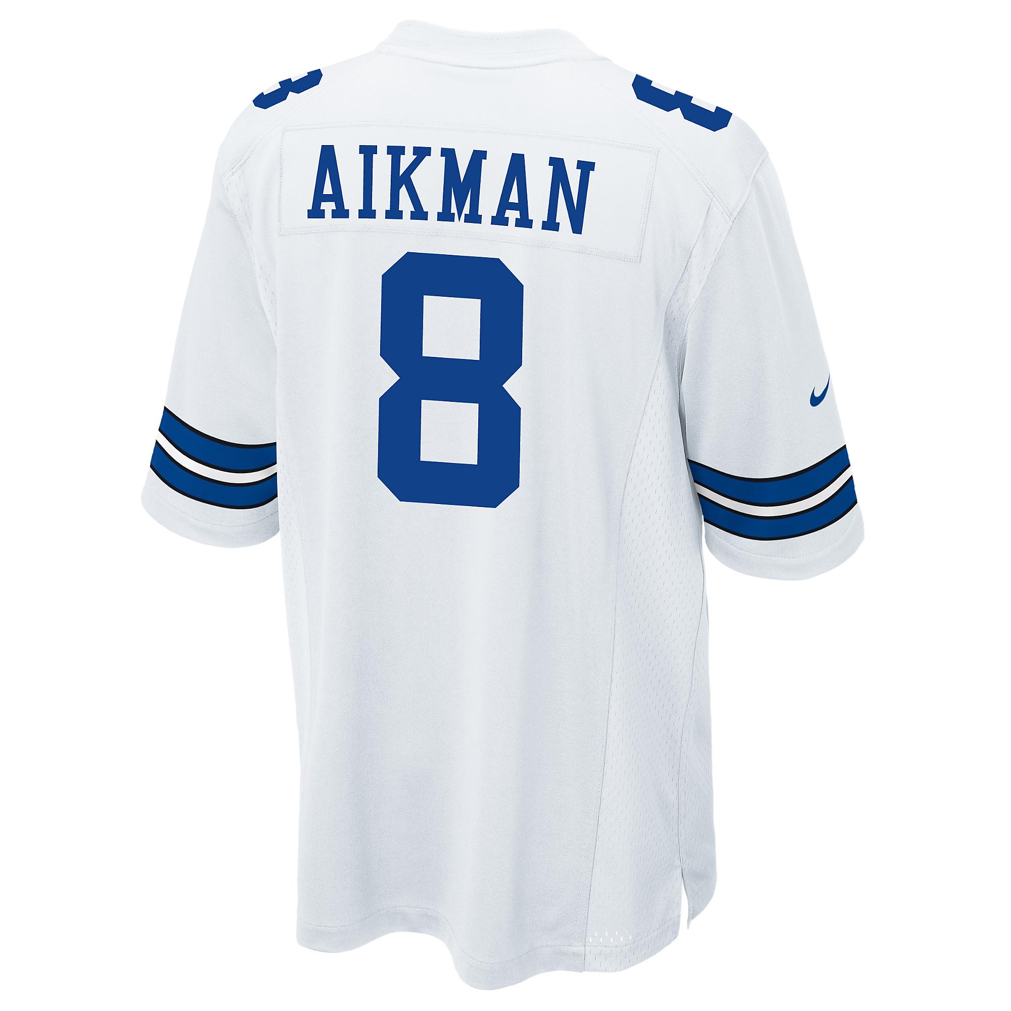 Dallas Cowboys Legend Troy Aikman Nike Game Replica Jersey 3XL 4XL