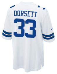 Dallas Cowboys Legend Tony Dorsett Nike Game Replica Jersey