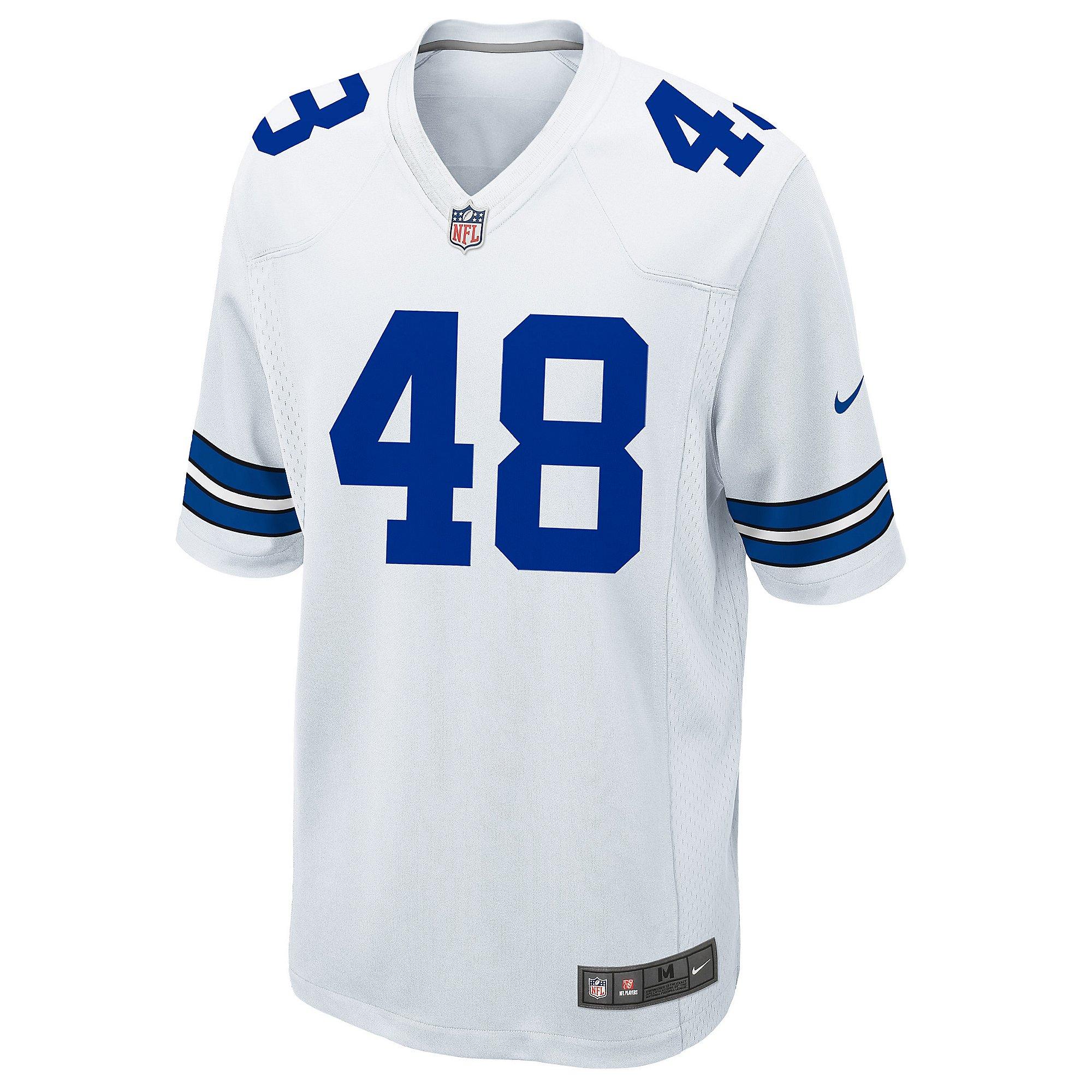 Dallas Cowboys Legend Daryl Johnston Nike Game Replica Jersey ...
