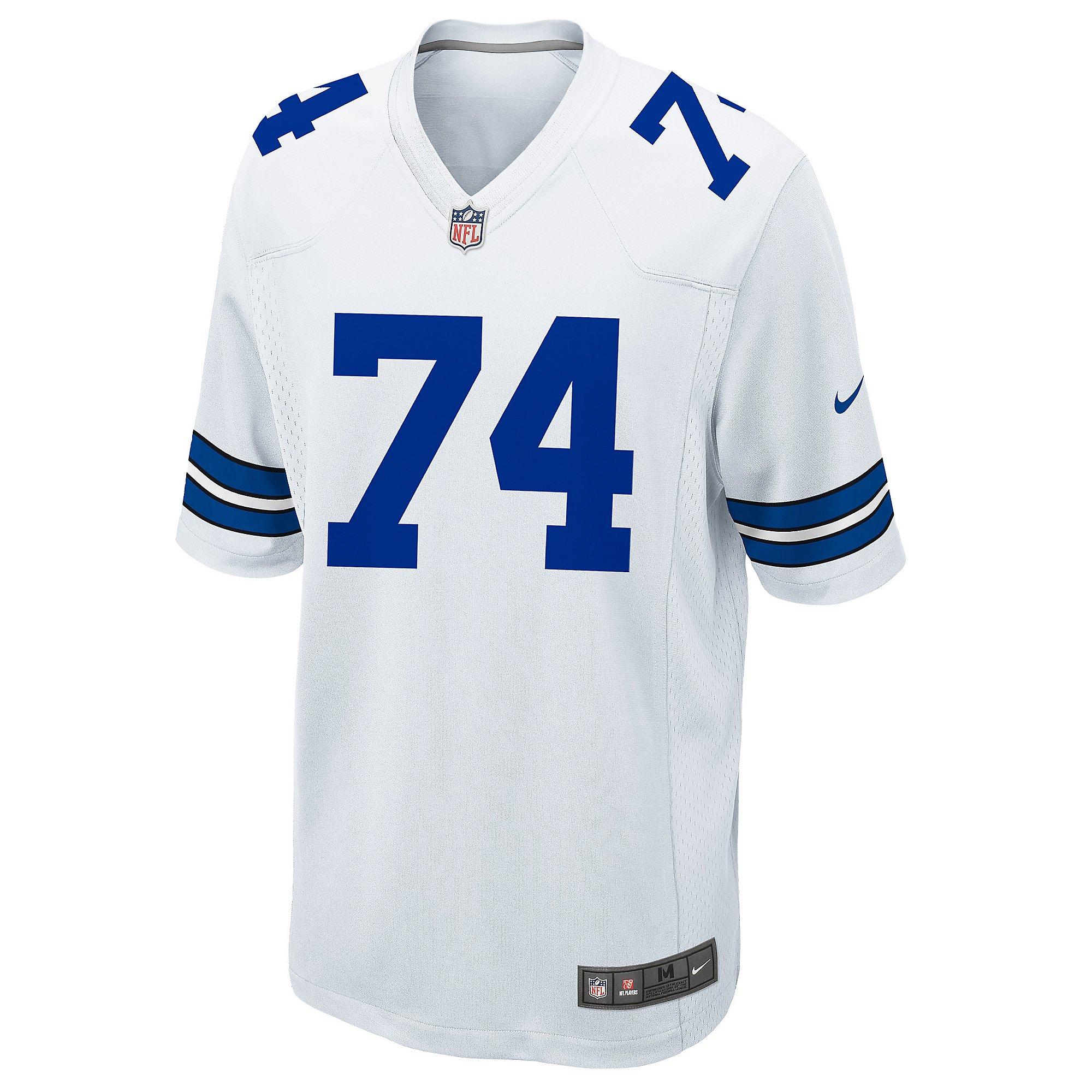 Dallas Cowboys Legend Bob Lilly #74 Nike Game Replica Jersey ...