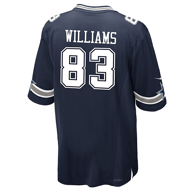 Dallas Cowboys Terrance Williams #83 Nike Navy Game Replica Jersey