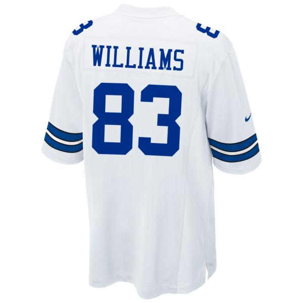 Dallas Cowboys Terrance Williams #83 Nike White Game Replica Jersey