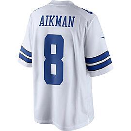 Dallas Cowboys Legend Troy Aikman Nike White Limited Jersey