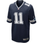 Dallas Cowboys Cole Beasley #11 Nike Navy Game Replica Jersey