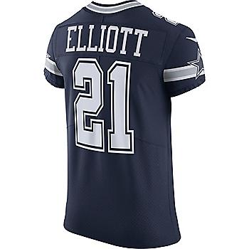 Dallas Cowboys Ezekiel Elliott  21 Nike Vapor Untouchable Navy Elite  Authentic Jersey e779990d0