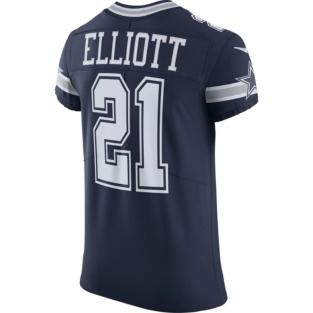 Dallas Cowboys Ezekiel Elliott #21 Nike Vapor Untouchable Navy Elite Authentic Jersey