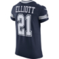 Dallas Cowboys Ezekiel Elliott #21 Nike Vapor Untouchable Navy Elite Authentic Jersey