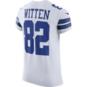 Dallas Cowboys Jason Witten #82 Nike White Elite Authentic Jersey