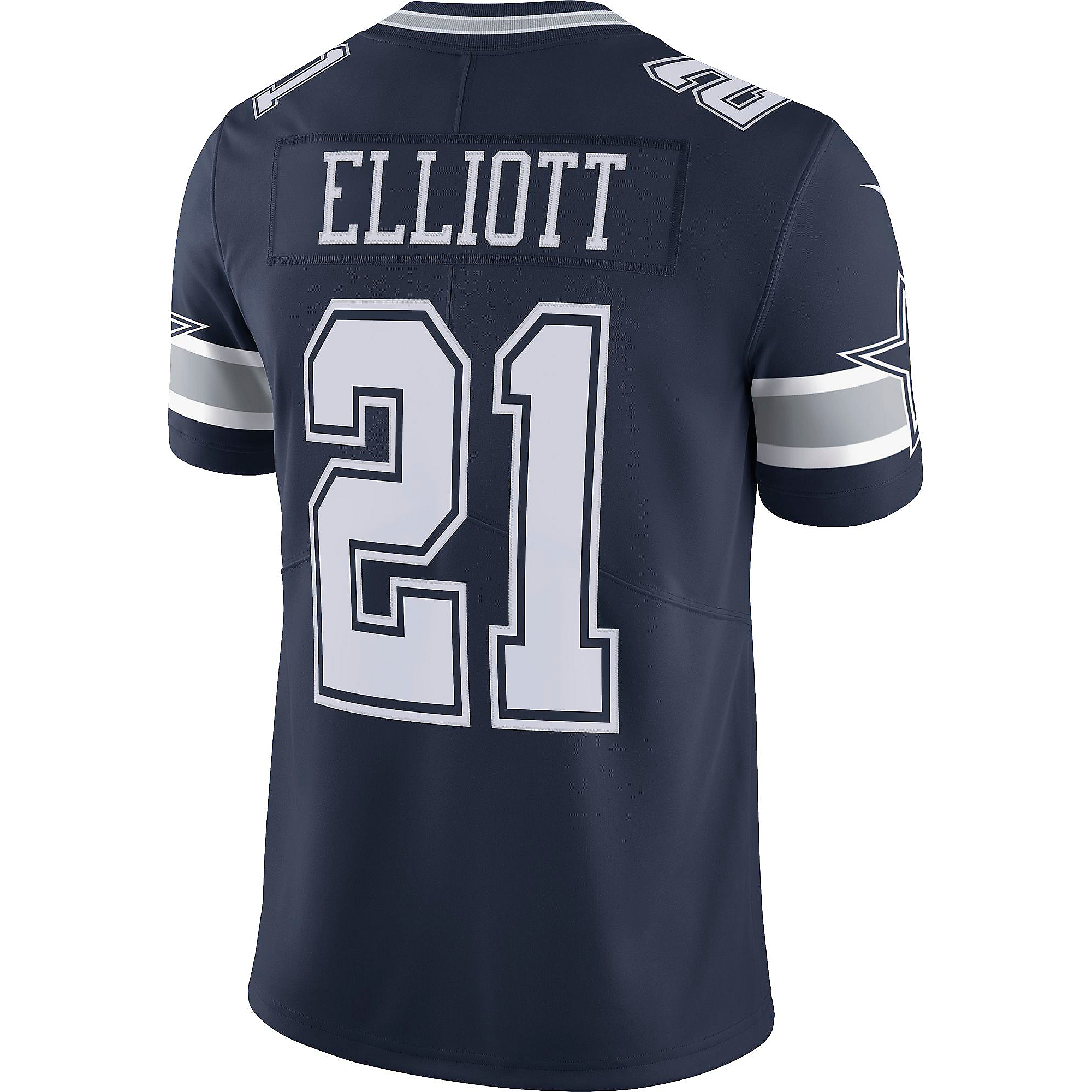 Dallas Cowboys Ezekiel Elliott #21 Nike Vapor Untouchable Navy Limited Jersey