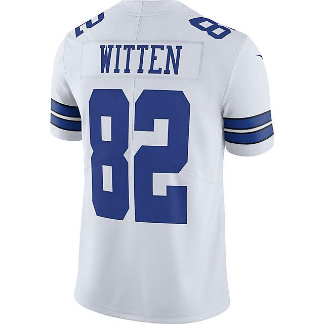 hot sale online 0db08 7d913 Dallas Cowboys Jason Witten #82 Nike Vapor Untouchable White Limited Jersey