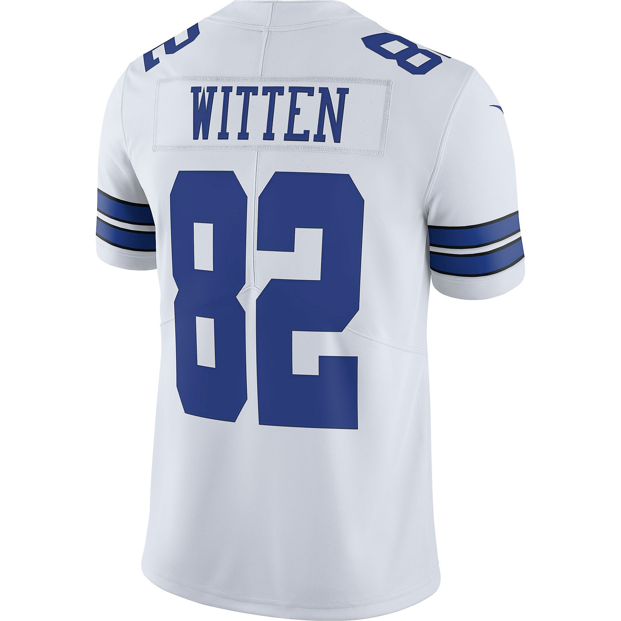 Dallas Cowboys Jason Witten #82 Nike White Vapor Limited Jersey