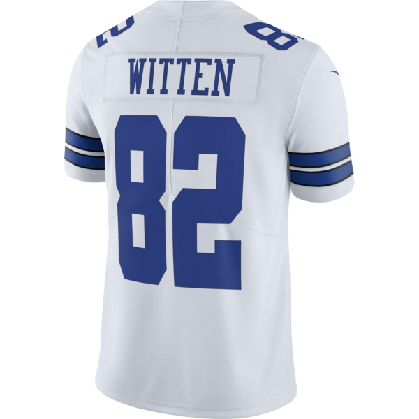Dallas Cowboys Jason Witten #82 Nike White Vapor Limited Jersey