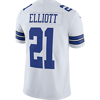 eaea5ecc4d0 Dallas Cowboys Ezekiel Elliott  21 Nike Vapor Untouchable White Limited  Jersey