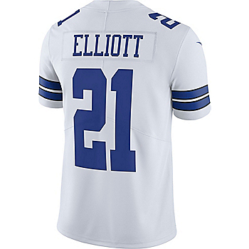 Dallas Cowboys Ezekiel Elliott  21 Nike Vapor Untouchable White Limited  Jersey 72f442185
