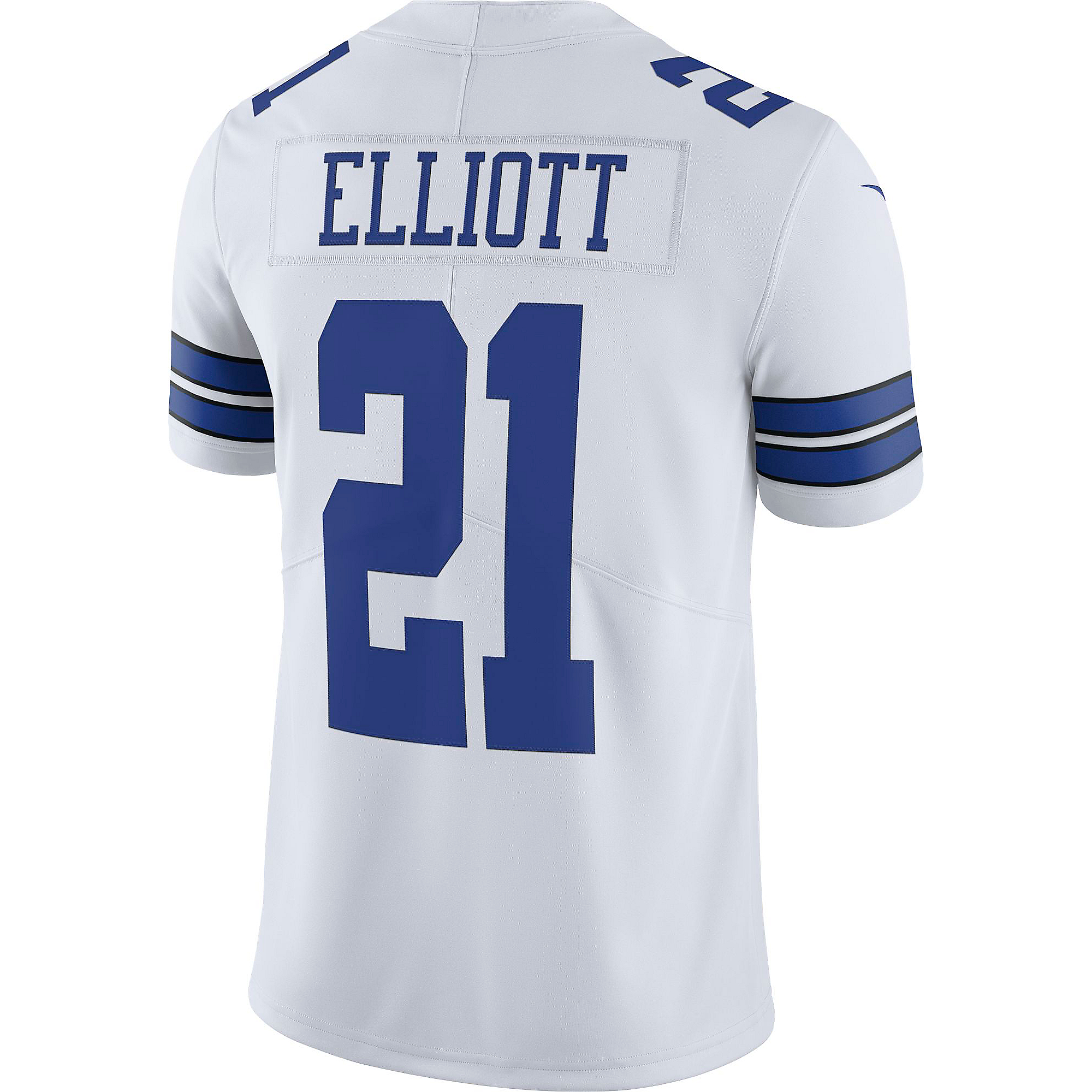 3a22735897c Dallas Cowboys Ezekiel Elliott #21 Nike Vapor Untouchable White Limited  Jersey