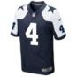 Dallas Cowboys Dak Prescott Nike Game Replica Throwback Jersey