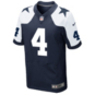 Dallas Cowboys Dak Prescott #4 Nike Game Replica Throwback Jersey
