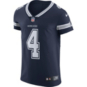 Dallas Cowboys Dak Prescott #4 Nike Navy Vapor Elite Authentic Jersey