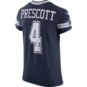 Dallas Cowboys Dak Prescott #4 Nike Vapor Untouchable Navy Elite Authentic Jersey