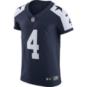 Dallas Cowboys Dak Prescott #4 Nike Vapor Untouchable Elite Authentic Throwback Jersey