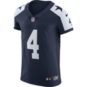 Dallas Cowboys Dak Prescott #4 Nike Vapor Elite Authentic Throwback Jersey