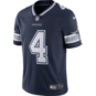 Dallas Cowboys Dak Prescott #4 Nike Vapor Untouchable Navy Limited Jersey