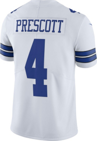 Dallas Cowboys Dak Prescott #4 Nike Vapor Untouchable White Limited Jersey