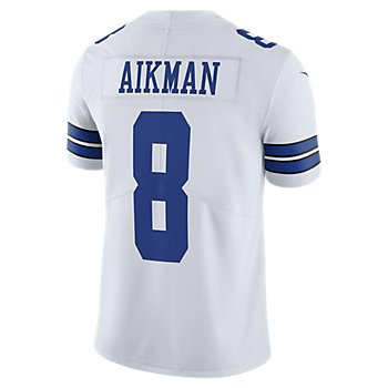 Dallas Cowboys Legend Troy Aikman #8 Nike White Vapor Limited Jersey