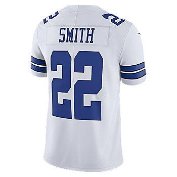 Dallas Cowboys Legend Emmitt Smith #22 Nike White Vapor Limited Jersey