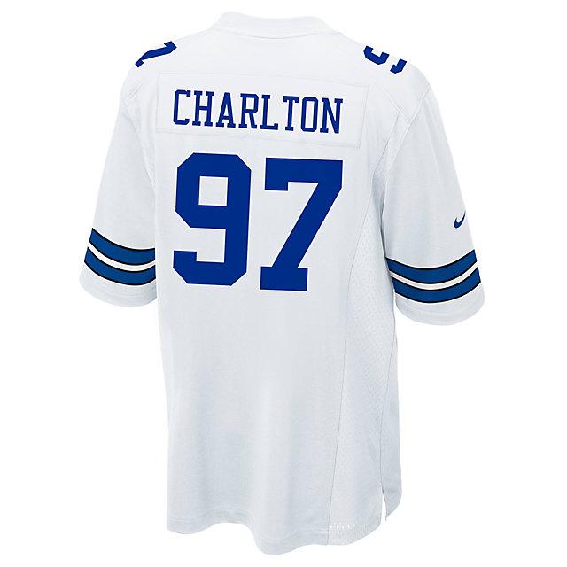 5c10cd19906 ... Dallas Cowboys Taco Charlton Nike White Game Replica Jersey Draft  Cowboys Catalog Dallas Cowboys Pro ...