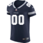 Dallas Cowboys Custom Nike Navy Vapor Elite Authentic Jersey