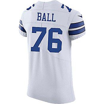 Dallas Cowboys Custom Nike White Vapor Elite Authentic Jersey