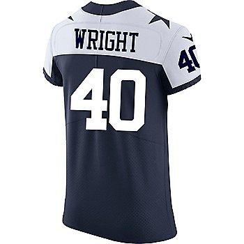 Dallas Cowboys Custom Nike Vapor Elite Throwback Jersey