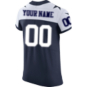 Dallas Cowboys Custom Nike Vapor Elite Throwback Jersey