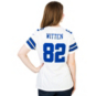 Dallas Cowboys Womens Jason Witten #82 Nike White Game Replica Jersey