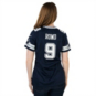 Dallas Cowboys Womens Tony Romo #9 Nike Navy Game Replica Jersey