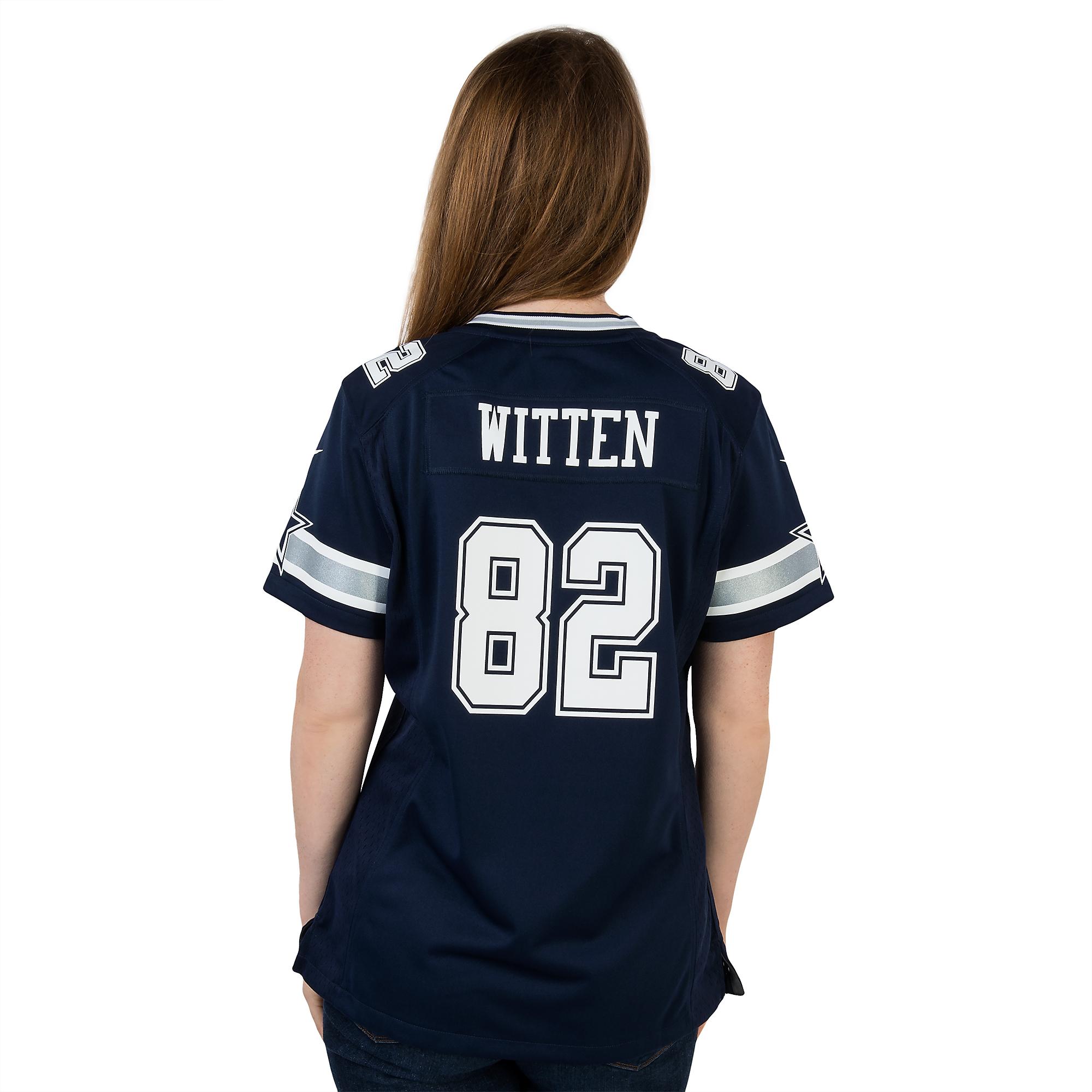 buy online 9e6c2 8dd69 Dallas Cowboys Womens Jason Witten #82 Nike Game Replica ...