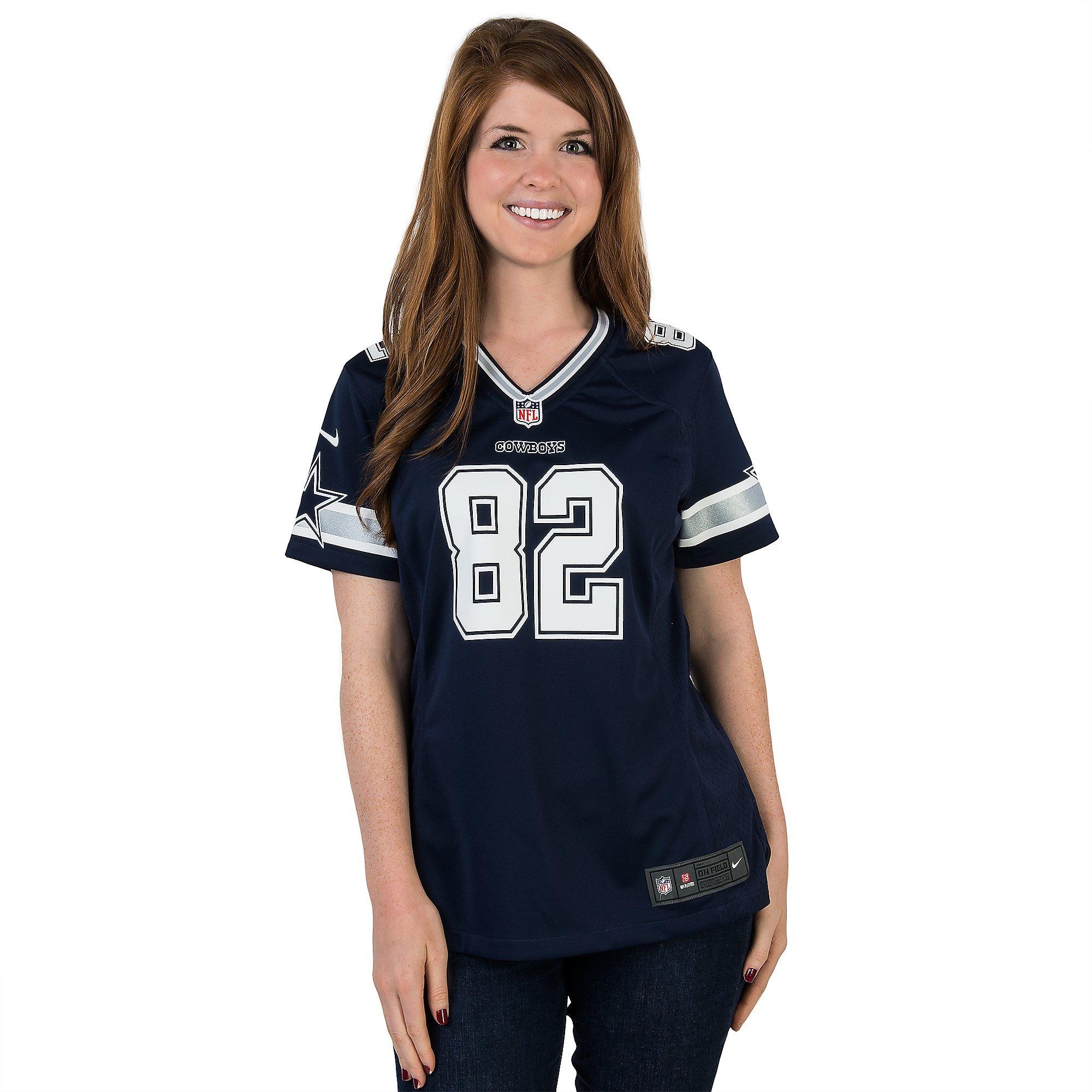 Dallas Cowboys Womens Jason Witten #82 Nike Game Replica Jersey ...