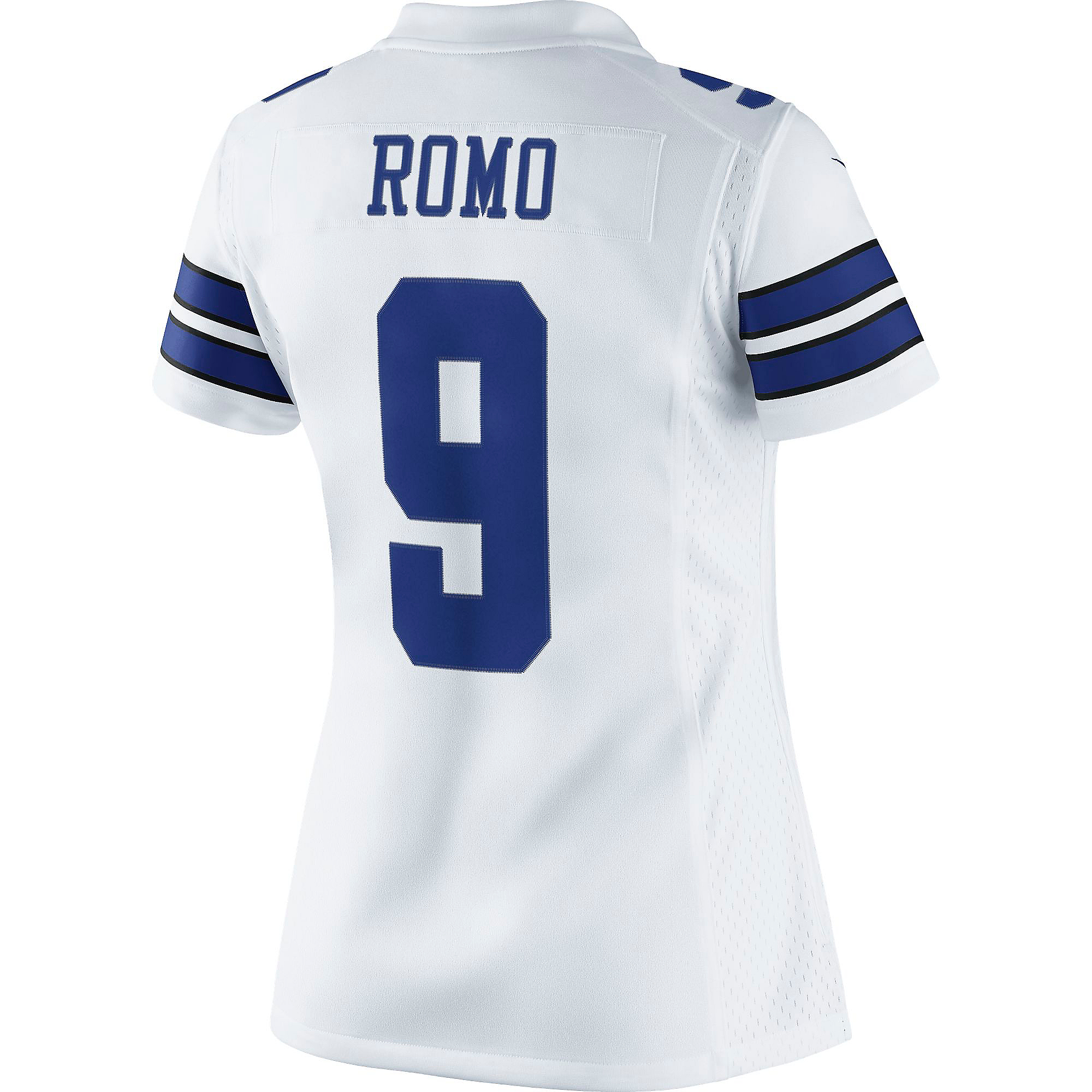 Dallas Cowboys Womens Tony Romo #9 Nike White Limited Jersey